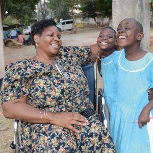 La direcrtrice de l'école Mercy Mwandeje